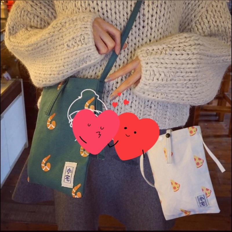 韓國復古肩背包肩背袋手機袋手機包零錢包側背包帆布包小宅包護照包包後背包 袋化妝包雜誌包收納