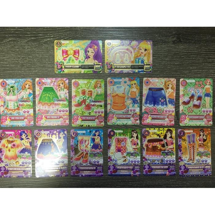 台版偶像學園第二季第五彈第5 彈普卡N 卡全套28 張卡片掉機台即妥善保存未刷含2 張頭飾