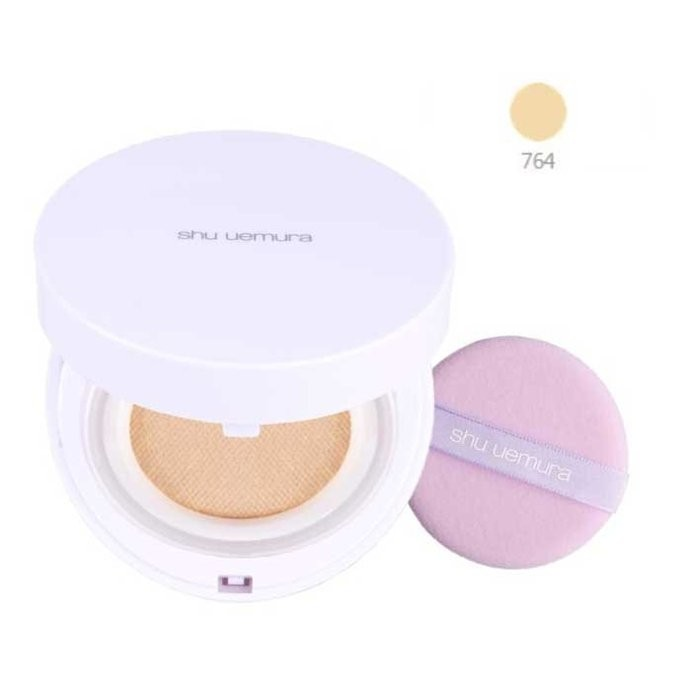 ◆NANA ◆SHU UEMURA 植村秀亮白無瑕氣墊粉餅組蕊心粉盒粉撲色號764 ~專櫃