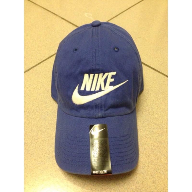 Nike Futura Cap 626305 455 寶藍刺繡老帽棒球帽水洗復古鴨舌銅釦調