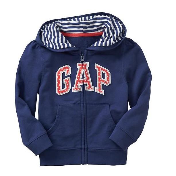 GAP 女寶藍色連帽外套18 24m 475 元美國正品