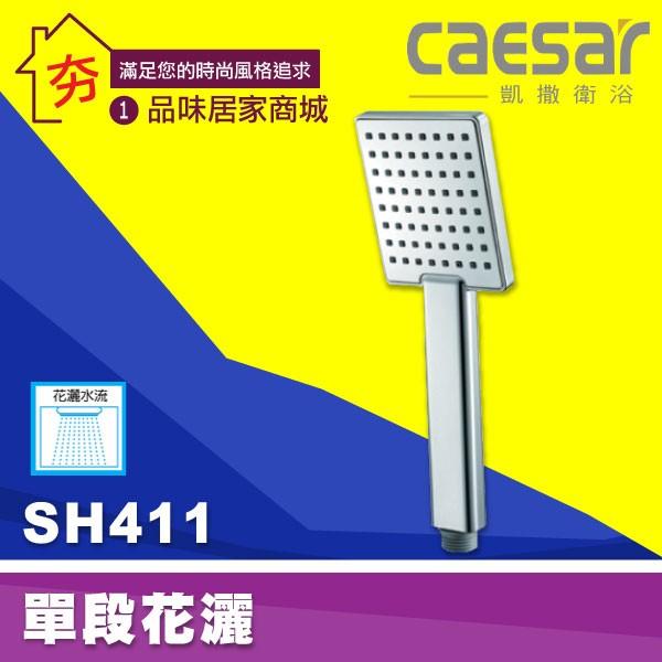 ~夯~Caesar 凱撒衛浴SH411 單段式按摩花灑把手淋浴SPA 蓮蓬頭把手蓮蓬頭沐浴