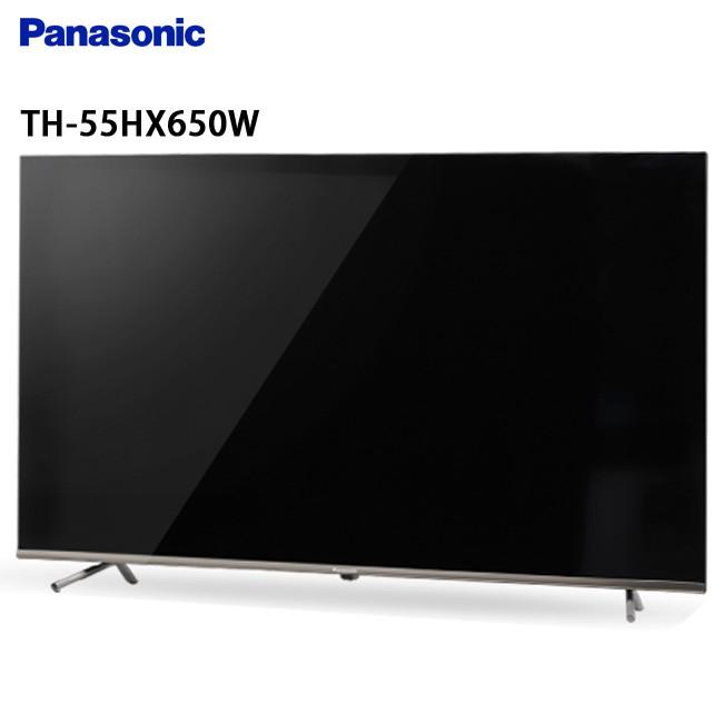 Panasonic 國際 TH-55HX650W 55吋 電視 4K超高解析度 搭載Google Play