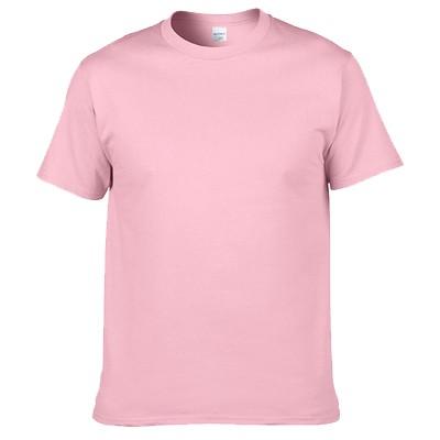 貨美國棉T GILDAN 76000 粉紅色素色T 男女短T 素面素T 圓筒T 簡約風30