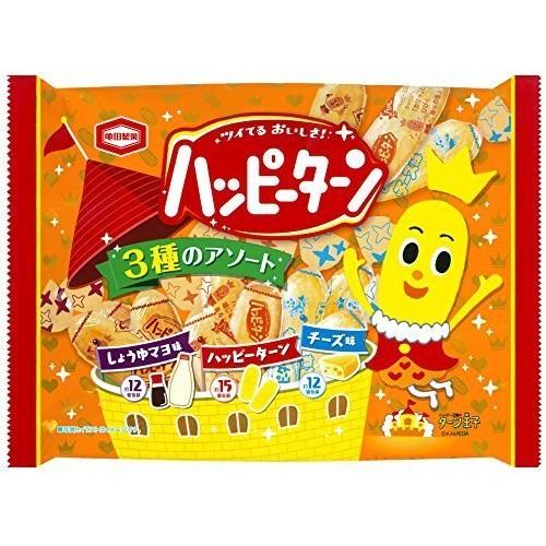 龜田製果快樂時光綜合米果量販包154g 醬油美乃滋原味起司