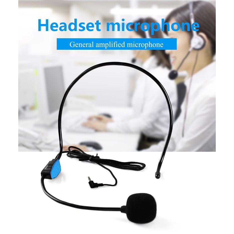 6 個新好 有線麥克風頭戴式話筒話麥多 擴音器麥克風 教學導遊非無線 麥擴音用