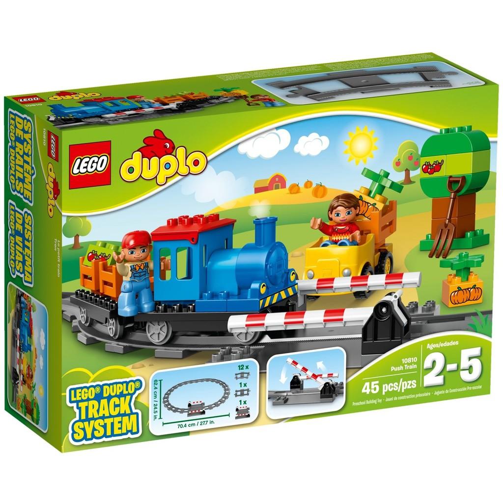 LEGO 樂高duplo 得寶系列10810 推拉式火車