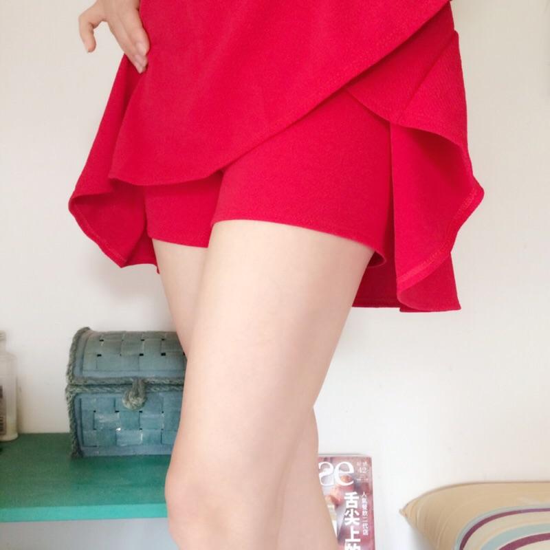 四季可穿防狼連褲短裙迷你裙短褲裙表演啦啦隊 短褲裙A 字裙學校啦啦隊表演服裝