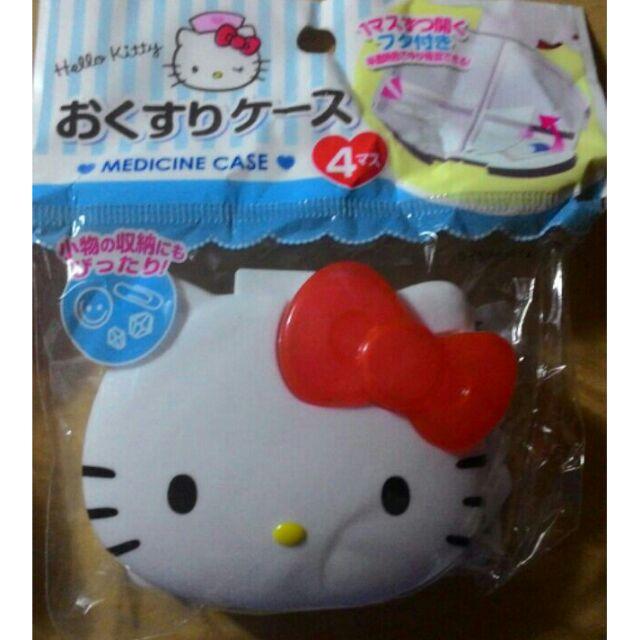 限定款 Hello kitty 收納藥盒melody 收納藥盒