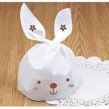 小白兔耳朵包裝袋100 入
