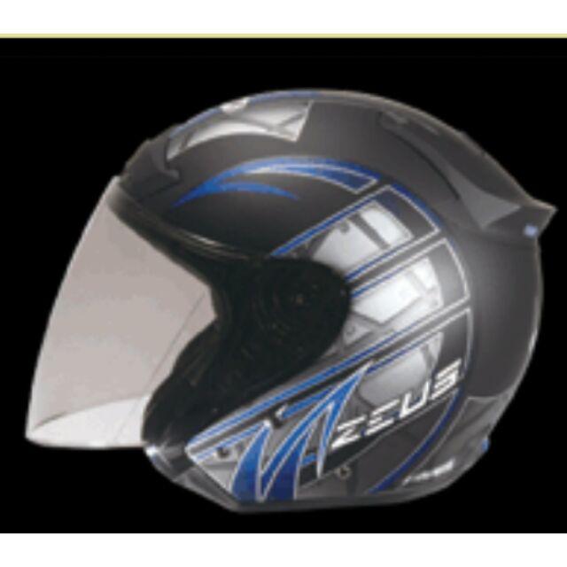ZEUS ZS 609 消光黑底I13 藍輕巧完美柔軟舒適