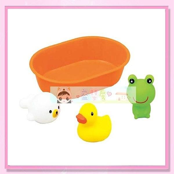 ~益嬰房~ 樂雅Toyroyal TF 7212 快樂洗澡組小水中洗澡玩具