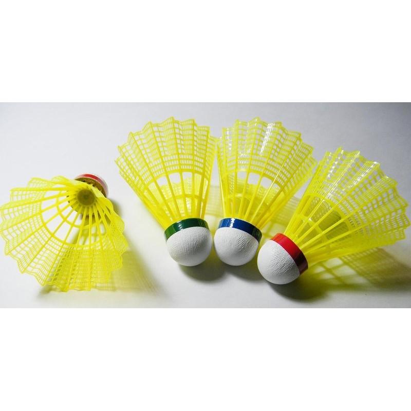 球拍 RKEP M9000 尼龍羽球耐打接近真的羽毛球