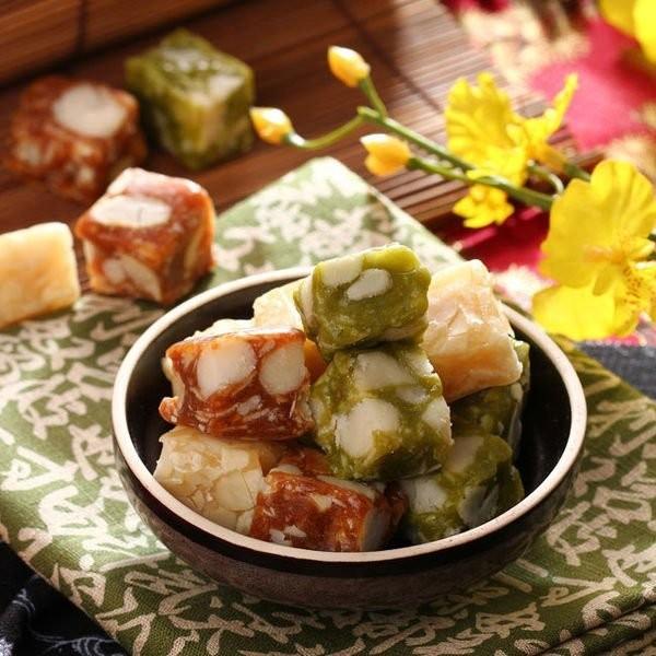 糖坊火山夏威夷豆軟糖黑糖原味抹茶綜合300g 無添加防腐劑 夢露萊娜夏威夷豆薄鹽夏威夷豆竹