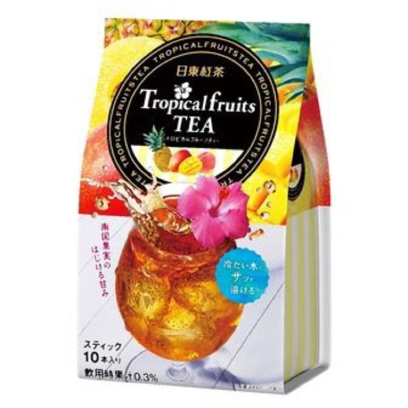 免等~晴空果子坊~日東10 本入綜合水果茶(99g