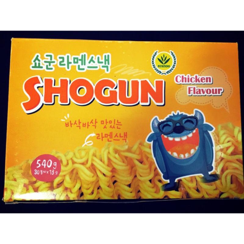 怪獸麵ㄧ盒210 5 盒1050 元點心脆麵韓國 零食SHOCUN 怪獸麵點心脆麵關注按讚