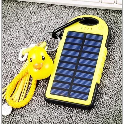 正品三防太陽能行動電源20000 毫安培超薄聚合物移動電源手機 型