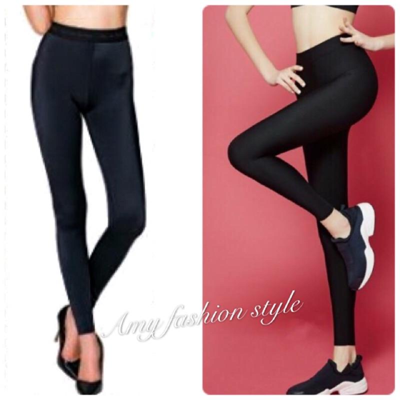 製專櫃品牌彈力顯瘦內搭褲涼感款大 緊身褲外搭貼身褲透氣