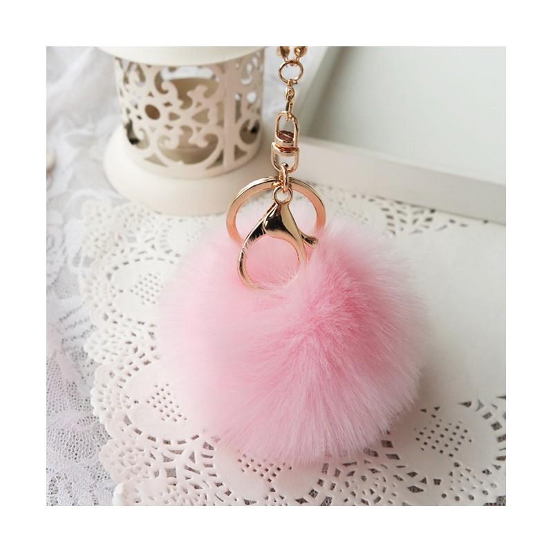 毛球韓系 珍珠毛球吊飾18 色手機吊飾 包包手拿包背包手提包側背包~1094 ~