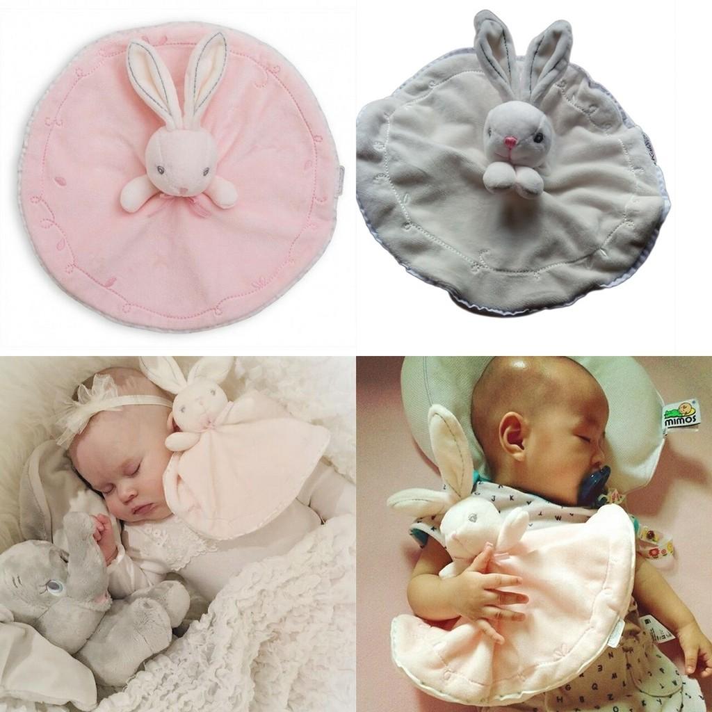法國Kaloo 天鵝絨系列毛絨安撫玩具安撫兔、天使滴守護者安撫巾