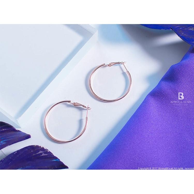 圓圈耳環4 0 3 色Classic Circle Earrings