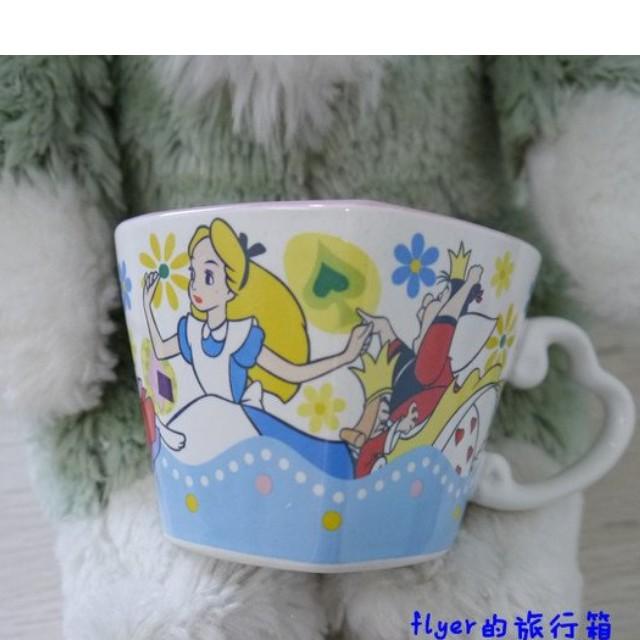東京迪士尼樂園愛麗絲夢遊仙境愛心 馬克杯二 送禮