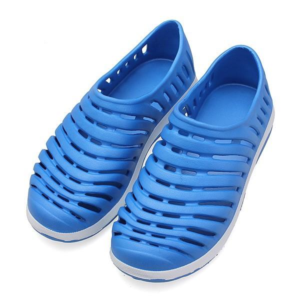 鞋海灘涼鞋透氣條紋鞋