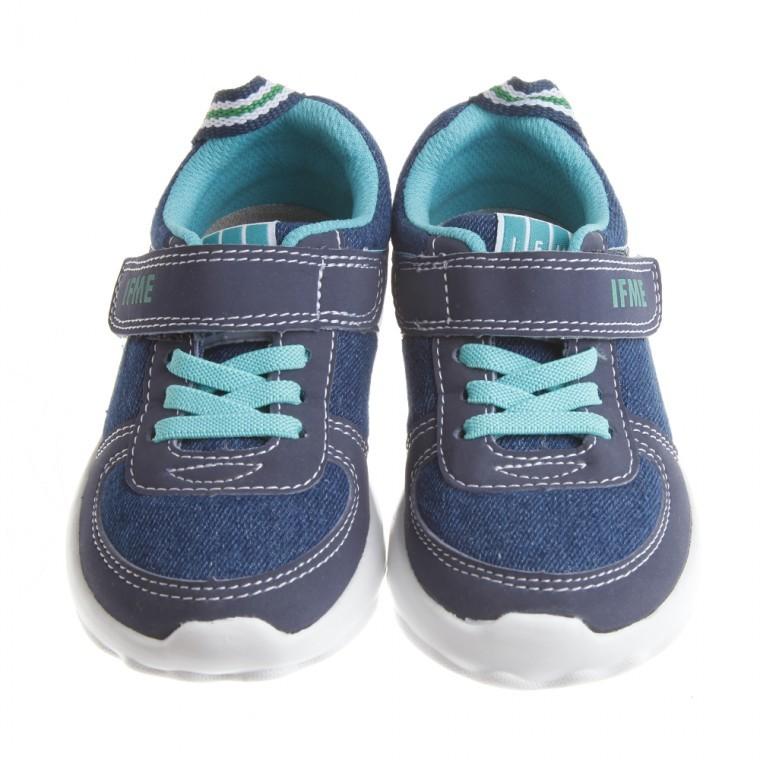 童鞋 IFME 牛仔藍帥氣超輕量機能 鞋