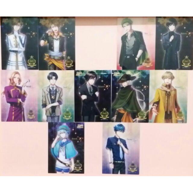 夢王國與沉睡的100 位王子殿下夢100 糖果透明pp 卡片pp 卡糖卡糖果卡片透明卡片收