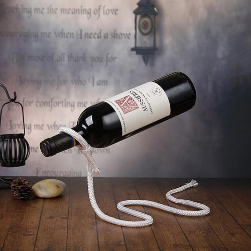 廚房用具工藝品繩子酒架魔術鏈條酒架紅酒架繩子