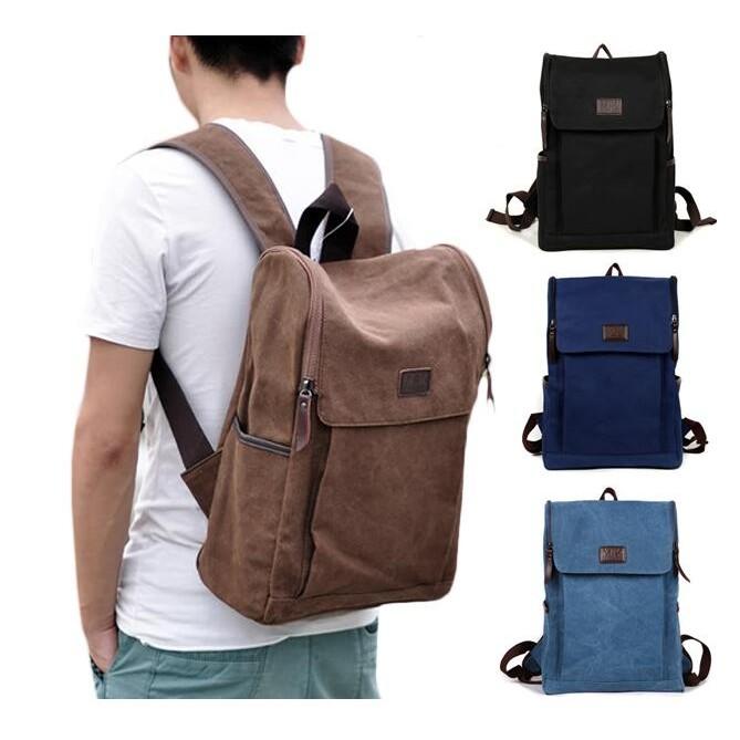 帆布雙肩包書包旅行雙肩背包男士雙肩包印花後背包帆布包旅行包手提包登山包 背包9001