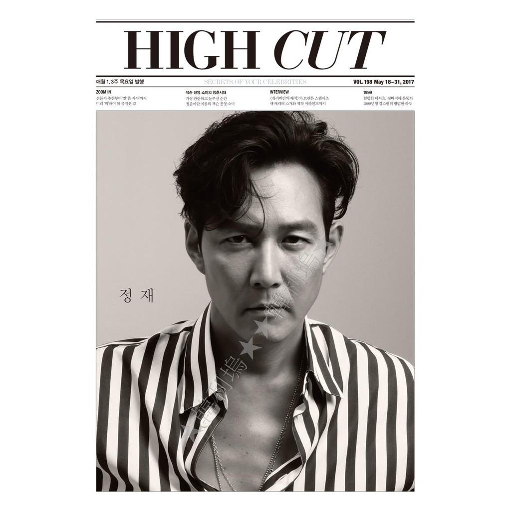 ~韓利塢~韓國雜誌High Cut Vol 198 李政宰封面GOT7 Jackson 珍
