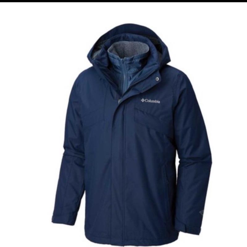 🌺蔓蒂小舖😍轉賣Columbia 哥倫比亞 男款- Omni-Tech™防水 OMNI-HEAT™ -兩件式外套