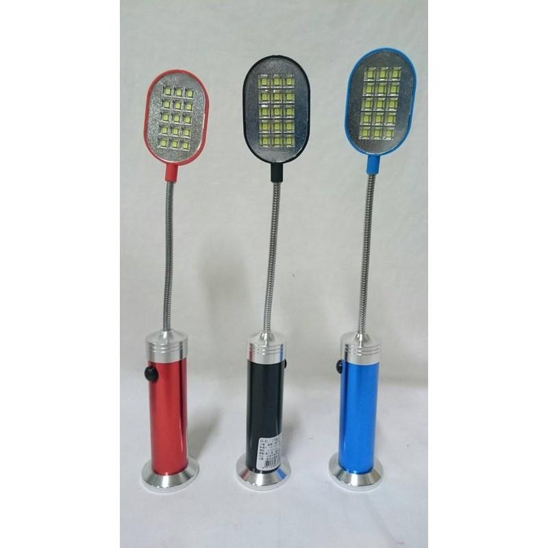 ~15LED 燈軟管磁鐵手電筒~420820 照明登山露營釣魚手電筒軟管手電筒工作燈