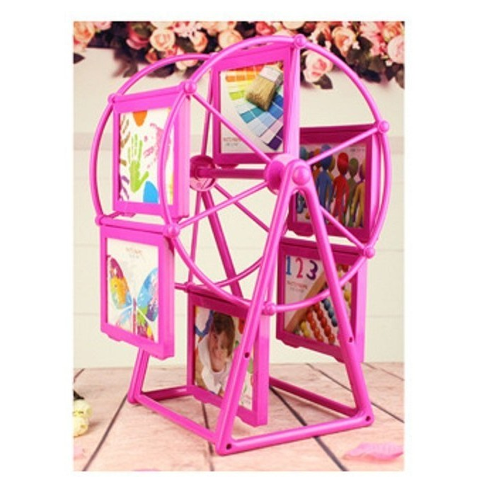 3 吋幸福旋轉摩天輪相框寶寶旋轉相框旋轉相框相架相框摩天輪