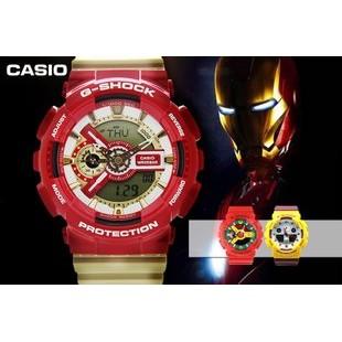 ~兩隻~G SHOCK 鋼鐵人GA 110CS 4A 卡西歐Casio 手錶Baby G