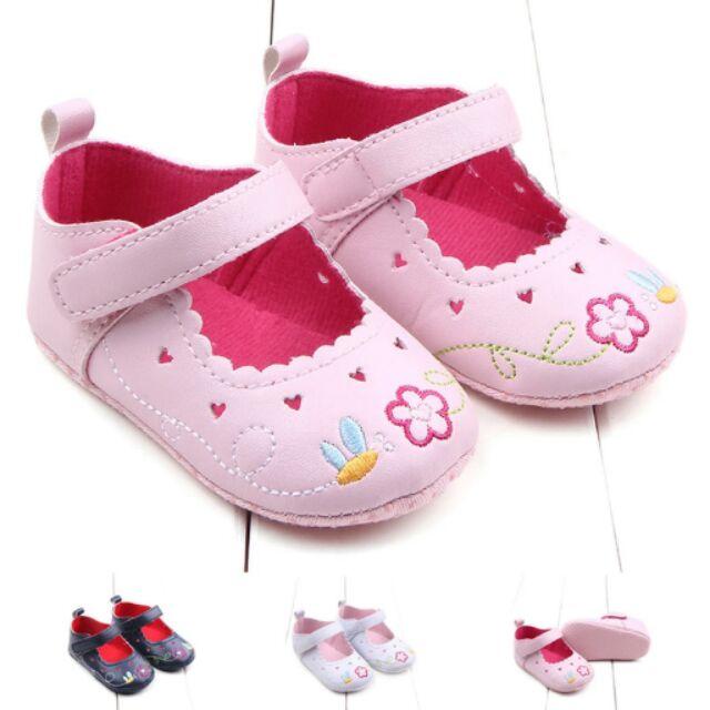 縷空愛心繡花公主鞋學步鞋嬰幼兒鞋寶寶鞋