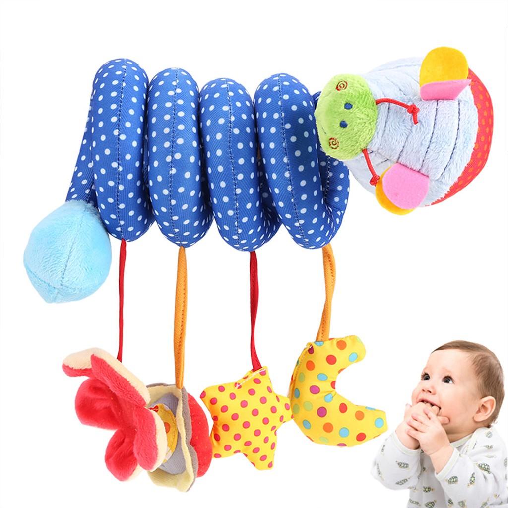 嬰兒玩具新生兒音樂床繞床鈴床掛柔軟布藝毛絨床頭鈴搖鈴床頭鈴