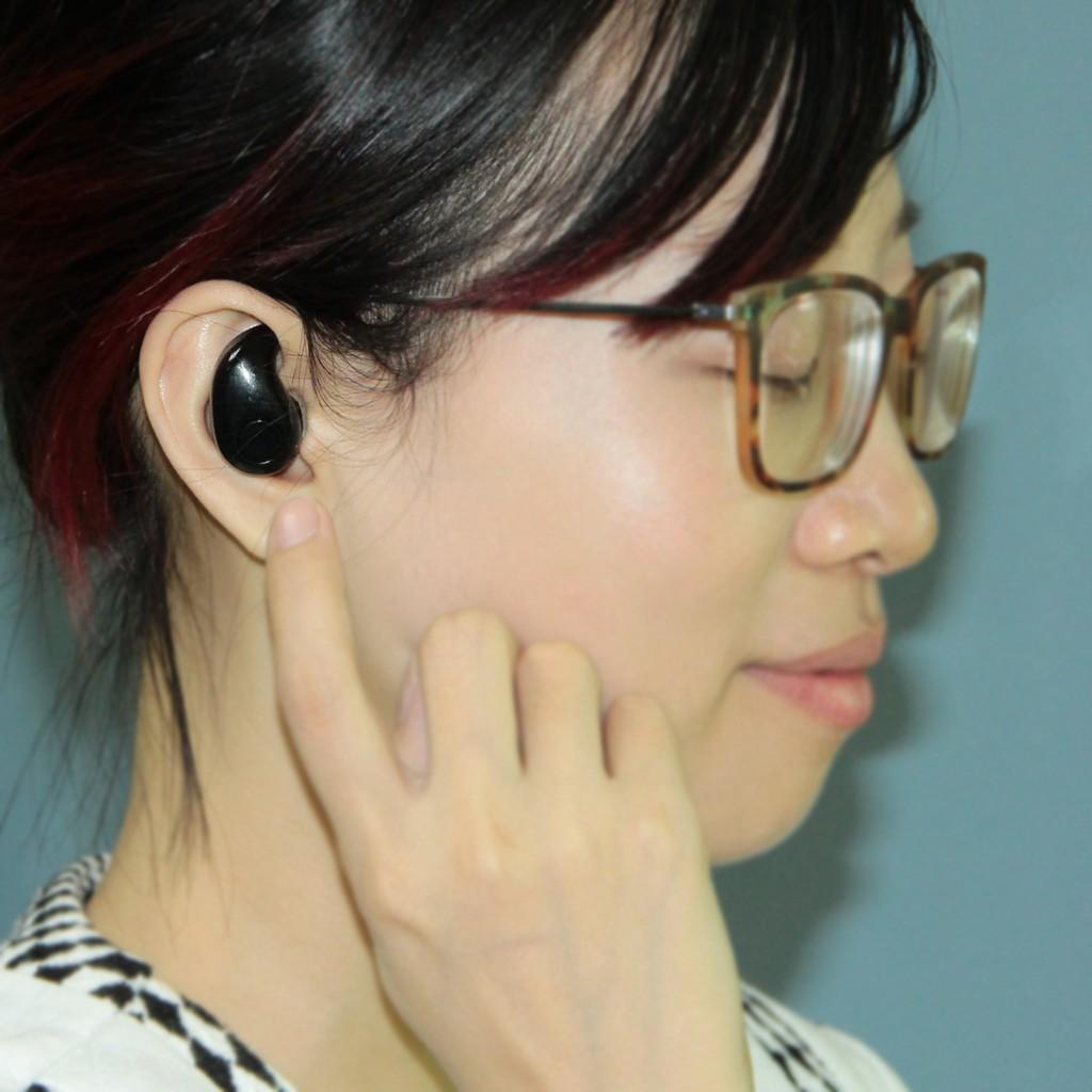 S530 無線藍牙耳機超小迷你隱形藍牙4 0 跑步 音樂耳塞式 黑色