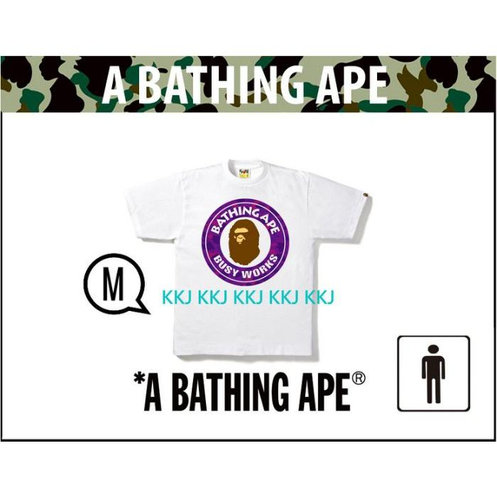 A BATHING APE COLOR CAMO BUSY WORKS TEE  M 星巴