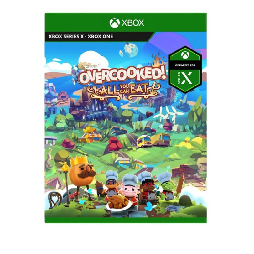 Xbox Series X 胡鬧廚房!全都好吃 中英文合版 2020 年暫定《煮過頭》系列 1、2 代的所有內容