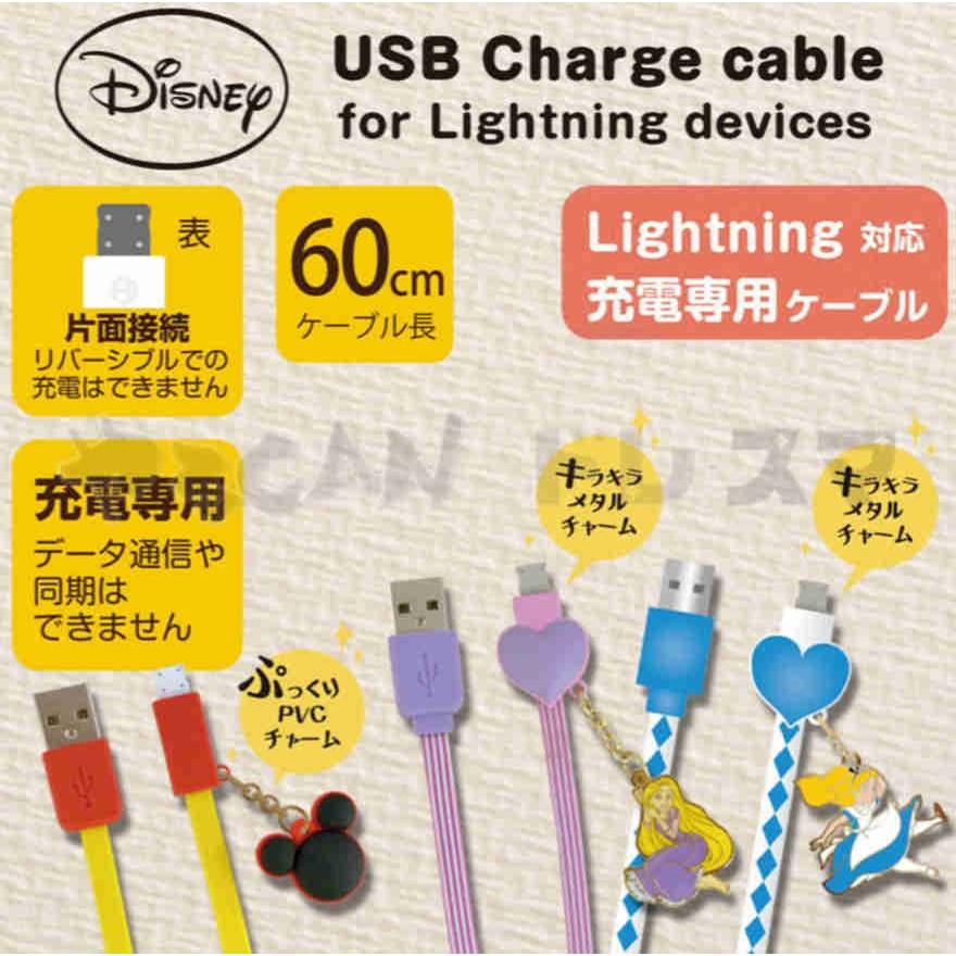 ESJ Disney 可愛大臉Lighting USB 充電線傳輸線iPhone