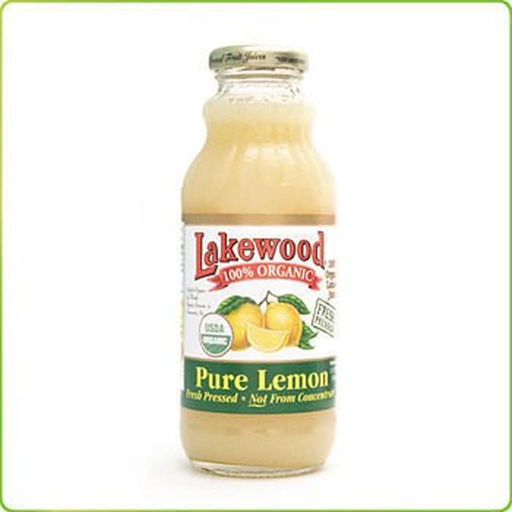 橡樹街3 號里仁lakewood 有機純檸檬汁370ml 瓶~A43021 ~不宜超取缺貨