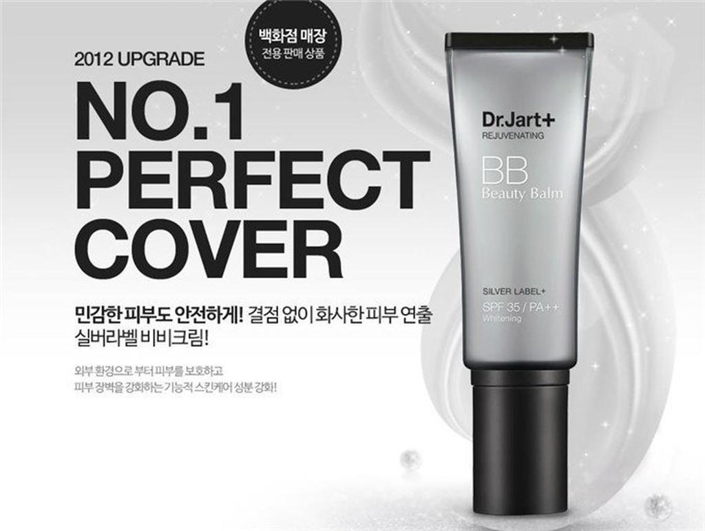 韓國藥妝品牌Dr jart  銀管淨白遮瑕BB 霜40ml
