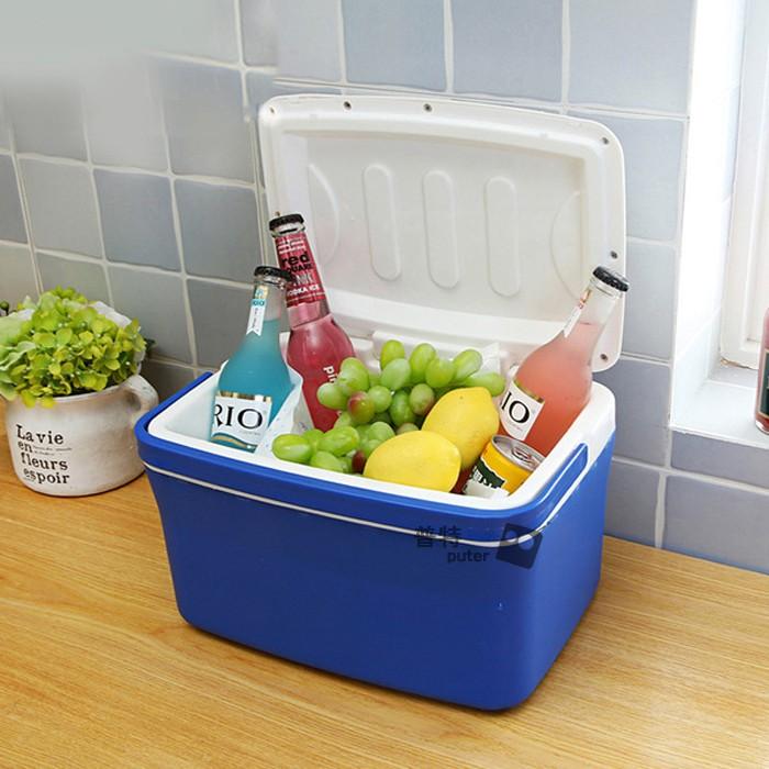 戶外保冷保溫箱8L 冷暖箱車用家用迷你冷藏箱戶外出遊食品保鮮箱普特汽車