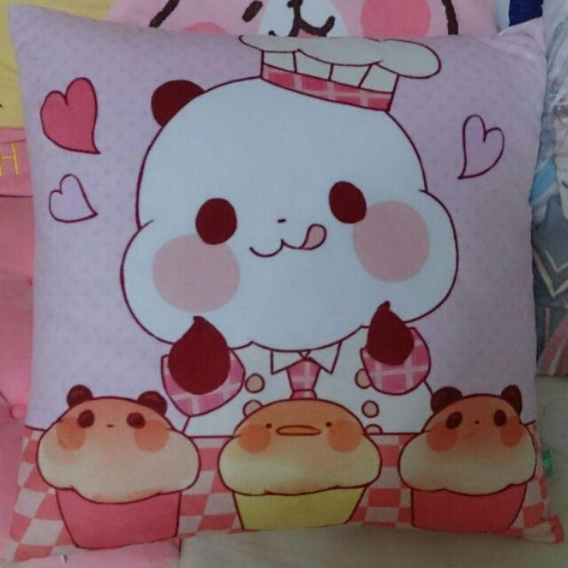隨身碟2G yururin panda 熊貓貓熊超可愛 貼圖USB 2GB 抱枕雙面