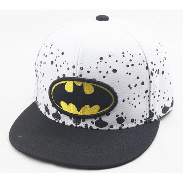 可直接 ♨️N N ~H0005 ~ 兒童遮陽鴨舌帽夏天男童男孩帽子蝙蝠俠小孩寶寶街舞嘻哈