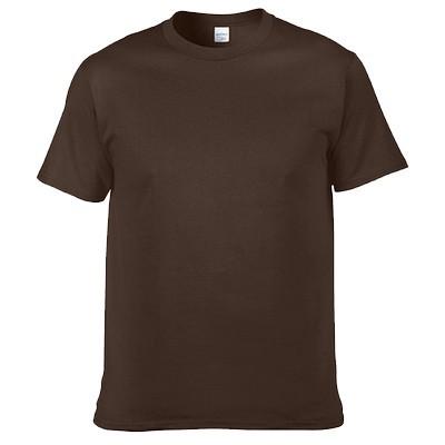 貨美國棉T GILDAN 76000 深咖啡色素色T 男女短T 素面素T 圓筒T 簡約風3