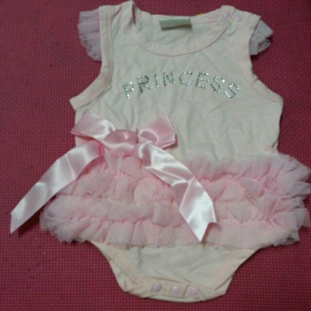 女寶寶嬰兒幼兒短袖無袖連身裙子連身衣長袖純棉空氣棉包屁衣連身衣屁屁衣蝴蝶衣初生兒衣服