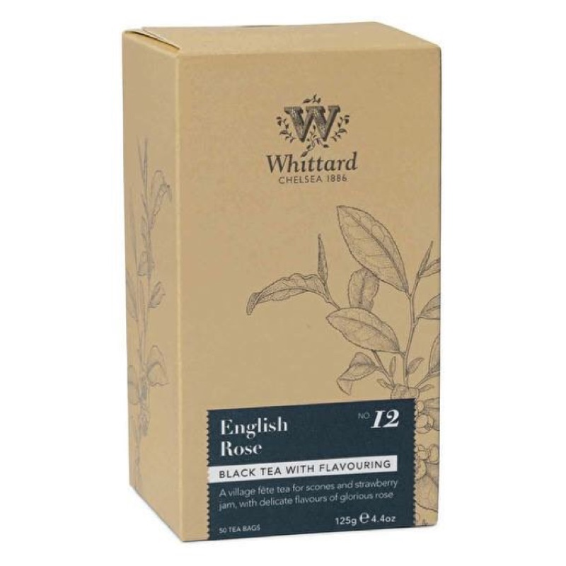 Whittard 維他英國玫瑰紅茶